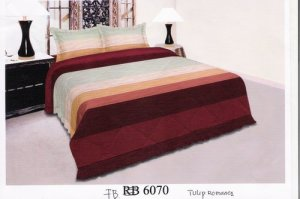 Sprei dan Bed Cover Seri FB 6070