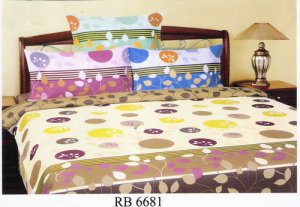 Sprei dan Bed Cover Seri RB 6681