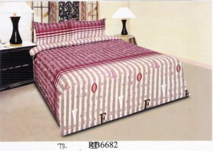 Sprei dan Bed Cover Seri RB 6682