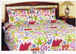 Sprei dan Bed Cover Seri RB 5163