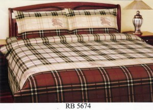 Sprei dan Bed Cover Seri RB 5674