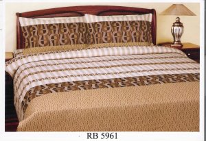 Sprei dan Bed Cover Seri RB-5961