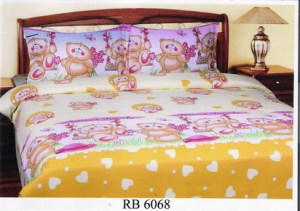 Sprei dan Bed Cover Seri RB 6068
