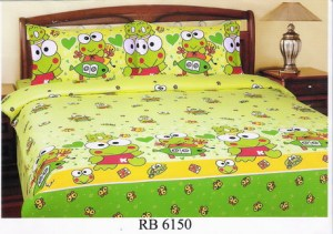 Sprei dan Bed Cover Seri RB 6150